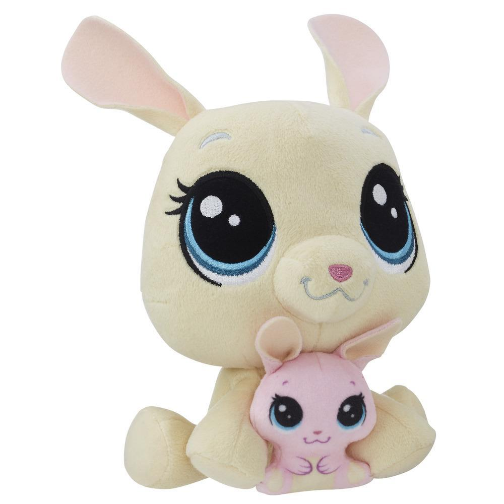 Littlest Pet Shop Vanilla Velvetears and Bijou Velvetears Plush Pairs