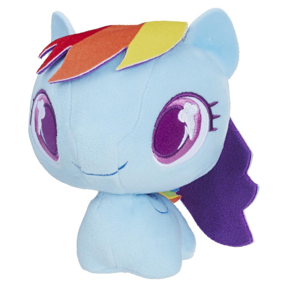 My Little Pony Rainbow Dash Cutie Mark Bobble Plush