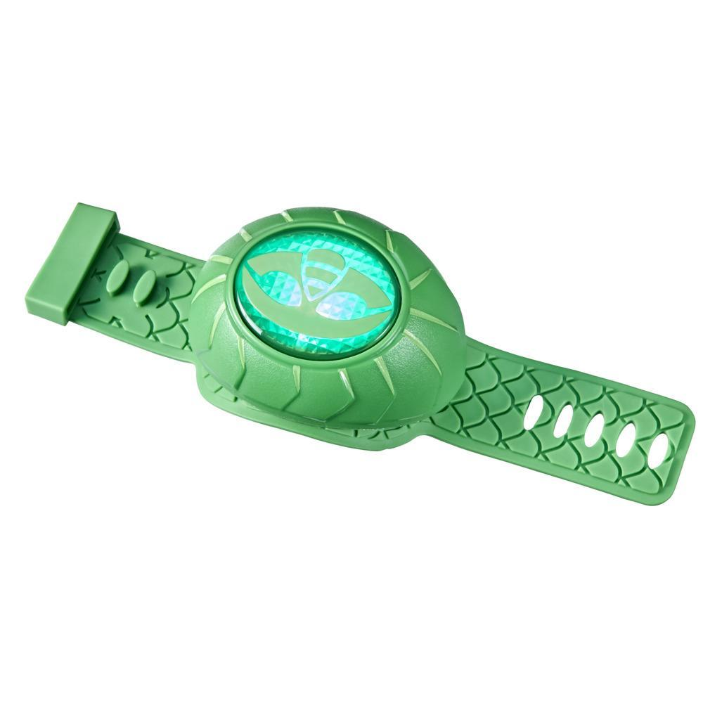 PJ Masks Gekko Power Wristband Preschool Toy, PJ Masks Costume Wearable with Lights and Sounds for Kids Ages 3 and Up