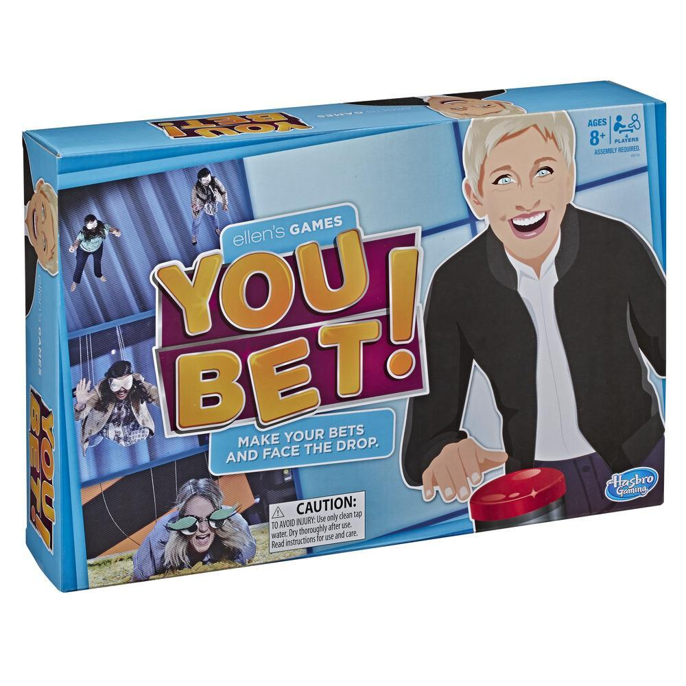 Ellen's Games You Bet Game, Ellen DeGeneres Challenge