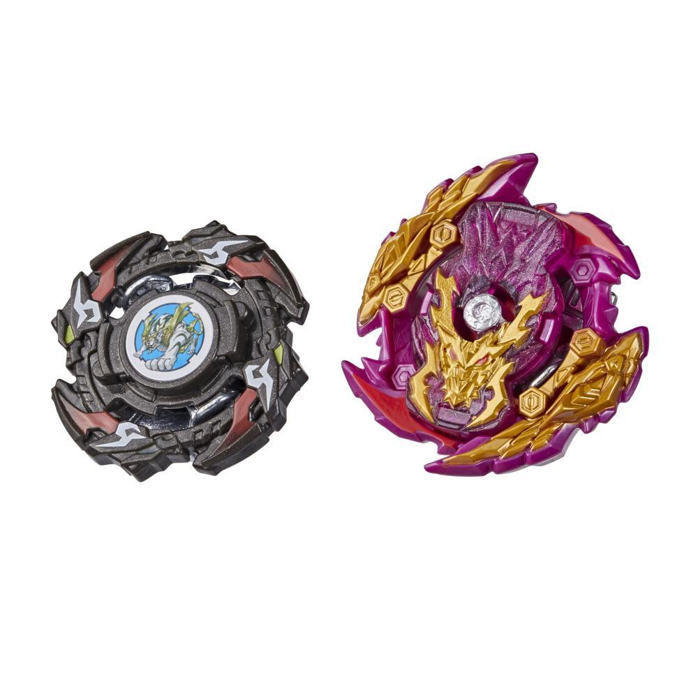 Beyblade Burst Surge Dual Collection Pack Hypersphere Zone Balkesh B5 and Slingshock Wraith Driger F Battling Game Tops