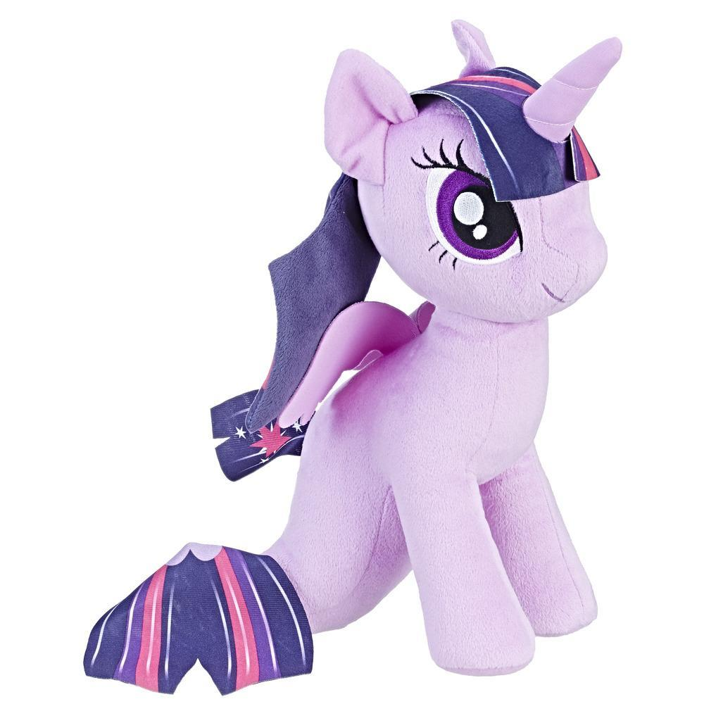 My Little Pony the Movie Princess Twilight Sparkle Sea-Pony Cuddly Plush