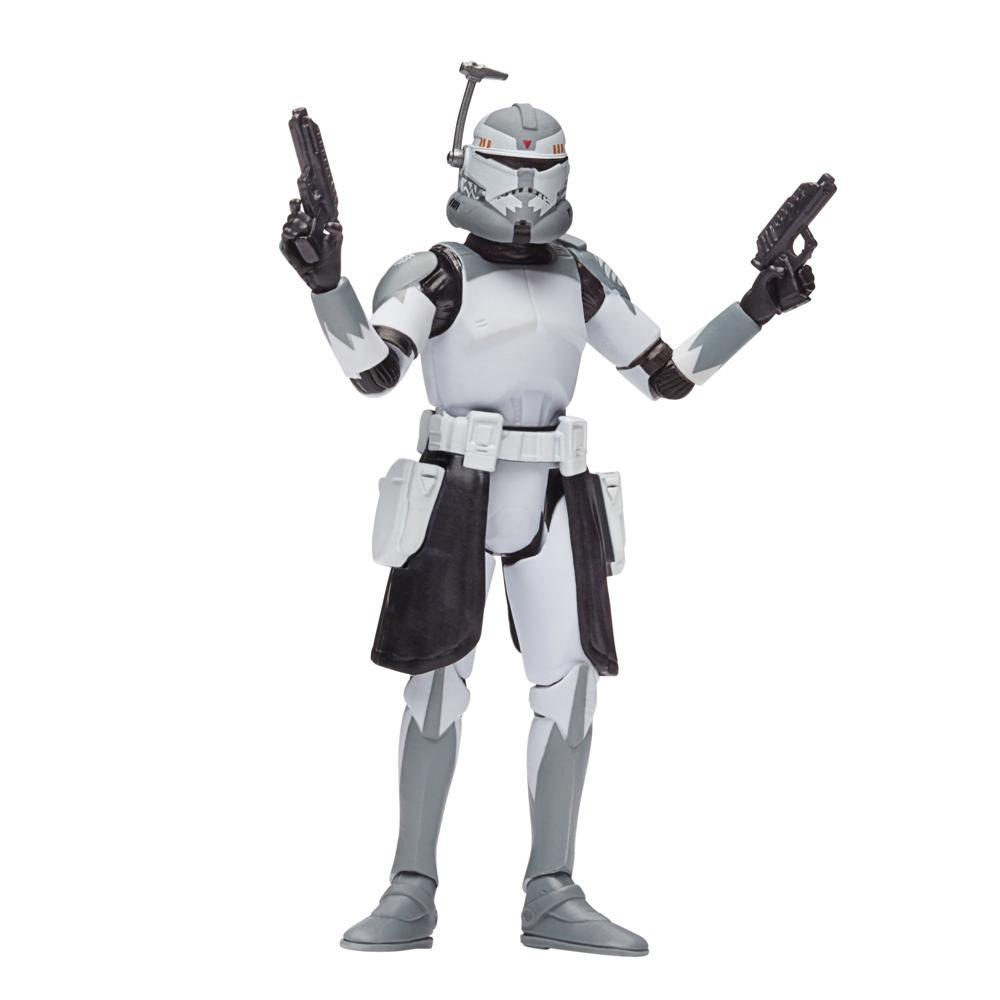 Star Wars The Vintage Collection Clone Commander Wolffe Toy, 3.75-Inch-Scale Star Wars: The Clone Wars Action Figure