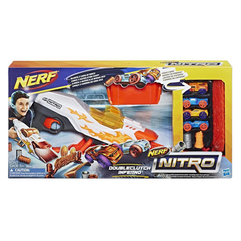 Nerf Nitro DoubleClutch Inferno