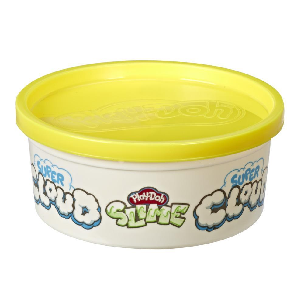 Play-Doh Super Cloud Single Can of Yellow Fluffy Slime Compound for Kids 3 Years and Up
