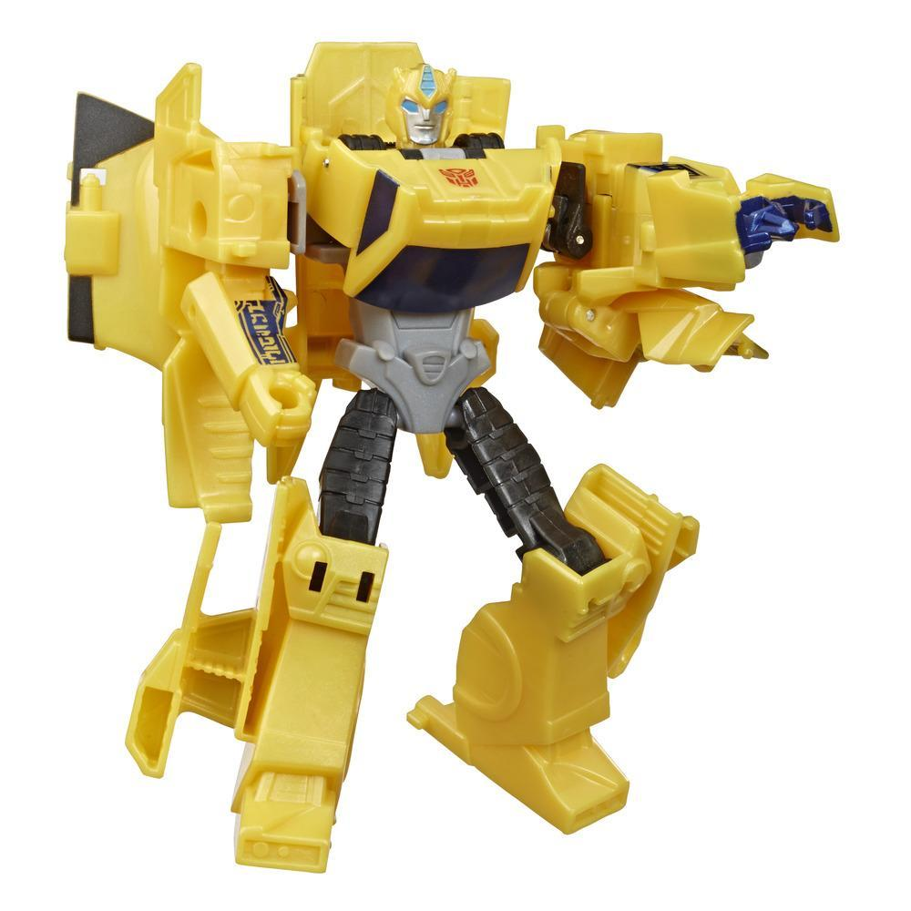 Transformers Bumblebee Cyberverse Adventures Action Attackers Warrior Class Bumblebee Action Figure, 5.4-inch