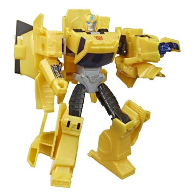 Transformers Bumblebee Cyberverse Adventures Action Attackers Warrior Class Bumblebee Action Figure, 5.4-inch Product