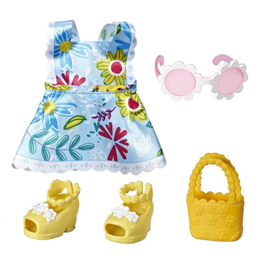 Littles by Baby Alive Little Styles, Fun in the Sun Outfit for Littles Dolls