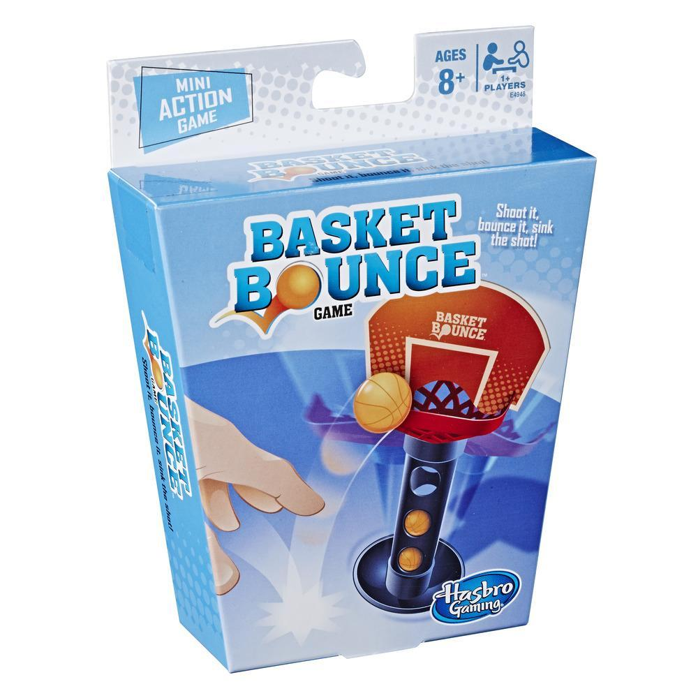 Basket Bounce Mini Action Game