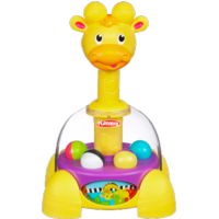 PLAYSKOOL POPPIN' PARK GIRAFFALAFF TUMBLE TOP Toy