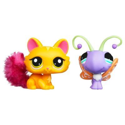 LITTLEST PET SHOP CUTEST PETS Pack (Cat and Butterfly)