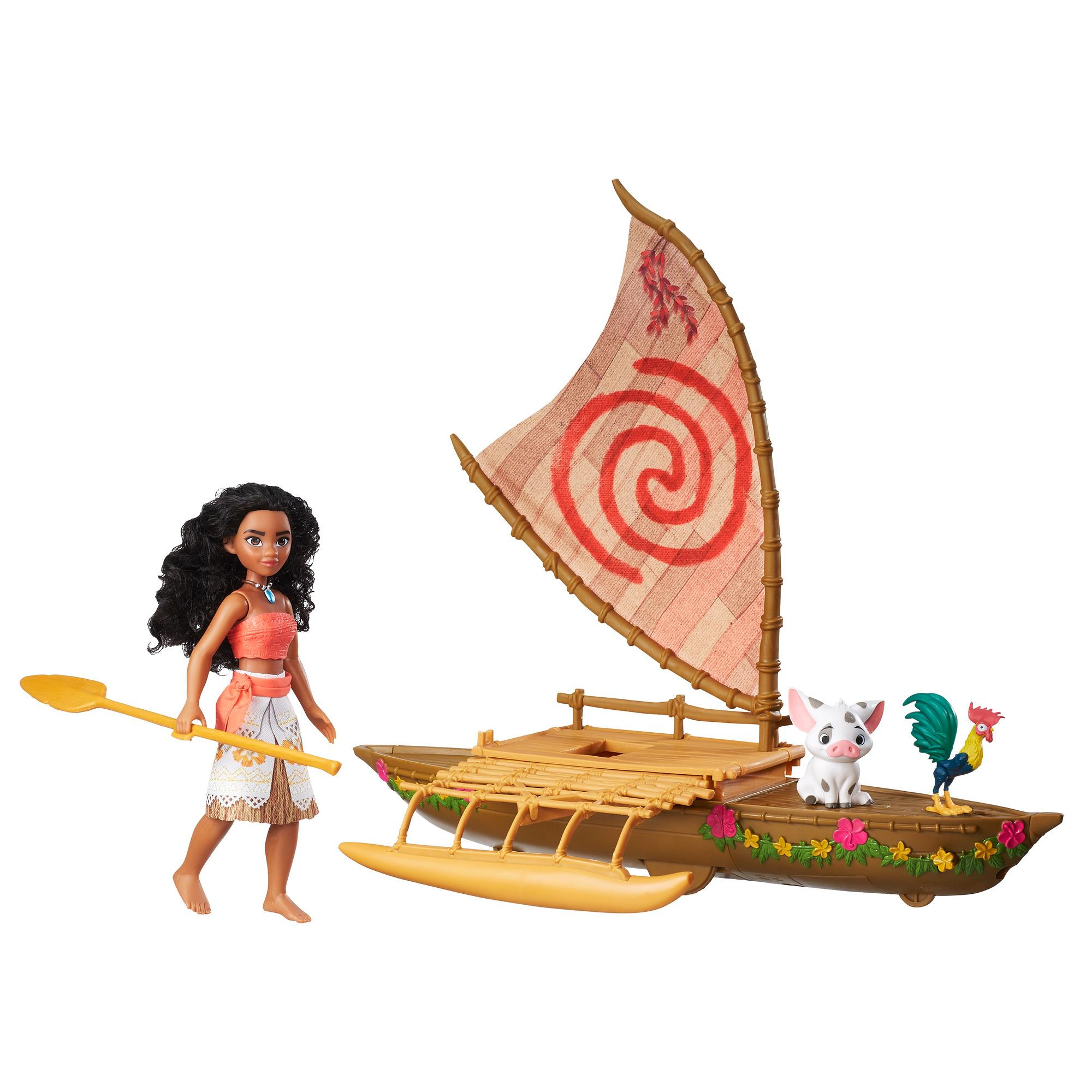 Disney Moana Starlight Canoe and Friends