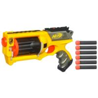 NERF N-STRIKE MAVERICK REV-6 Blaster (Double Your Darts)
