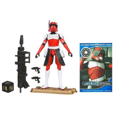 STAR WARS THE CLONE WARS CLONE COMMANDER Fox Figure