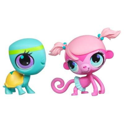 Littlest Pet Shop Totally Talented 2-Pack (Minka Mark & Turtle)