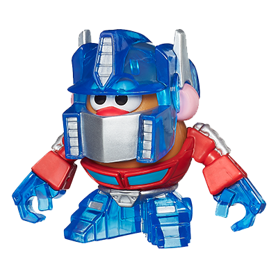Playskool Mr. Potato Head Transformers Mixable, Mashable Heroes as Optimus Prime Robot