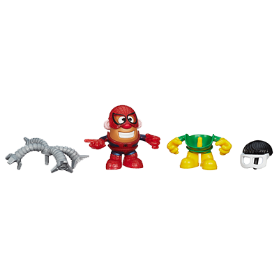 Playskool Mr. Potato Head Marvel Mixable Mashable Heroes as Spider-Man and Doc Ock Set