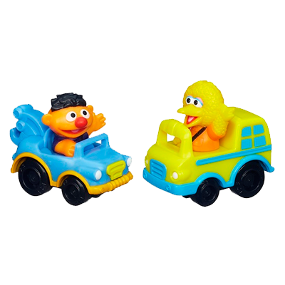 Playskool Sesame Street Racers (Big Bird and Ernie)