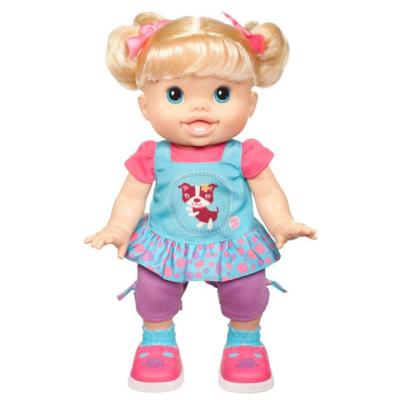 BABY ALIVE BABY WANNA WALK Caucasian Doll