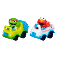 Playskool Sesame Street Racers (Elmo and Oscar)