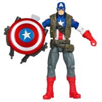 MARVEL THE AVENGERS Comic Series Super Shield CAPTAIN AMERICA Figure