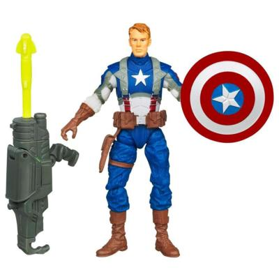 MARVEL THE AVENGERS Concept Series Rocket Grenade CAPTAIN AMERICA Figure