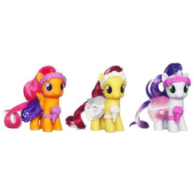 MY LITTLE PONY WEDDING FLOWER FILLIES Set