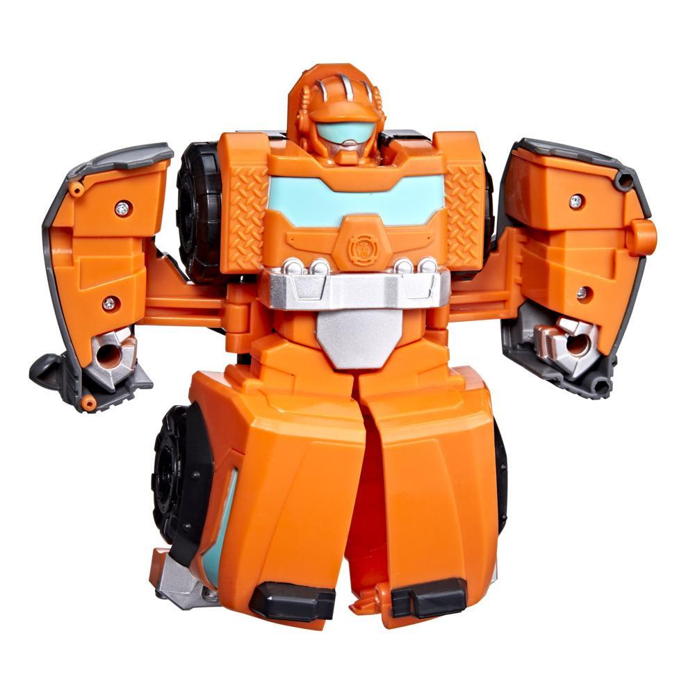 Transformers Rescue Bots Academy Wedge the Construction-Bot Converting Toy, 4.5-Inch Figure, Kids Ages 3 and Up