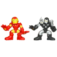 Marvel Super Hero Squad – Iron Man and War Machine