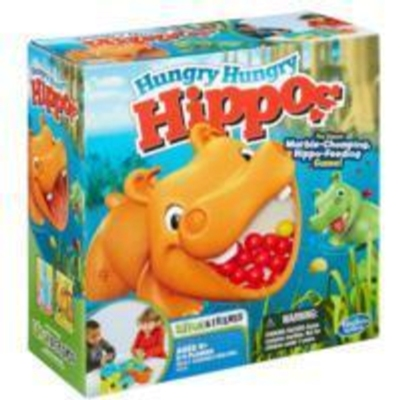 Elefun & Friends Hungry Hungry Hippos Game