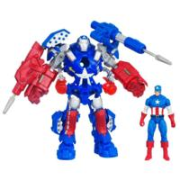 MARVEL THE AVENGERS Concept Series STARK TECH ASSAULT ARMOR CAPTAIN AMERICA Figure