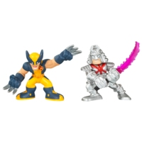 Marvel Super Hero Squad: Wolverine and Silver Samurai