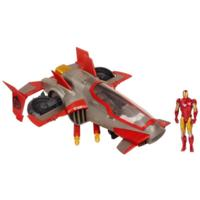 MARVEL THE AVENGERS Comic Series IRON MAN FIRESTRIKE ASSAULT JET Vehicle