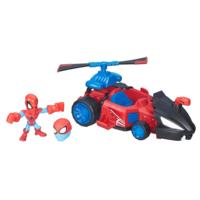 Marvel Super Hero Mashers Spider-Man Speeder Vehicle and Figure