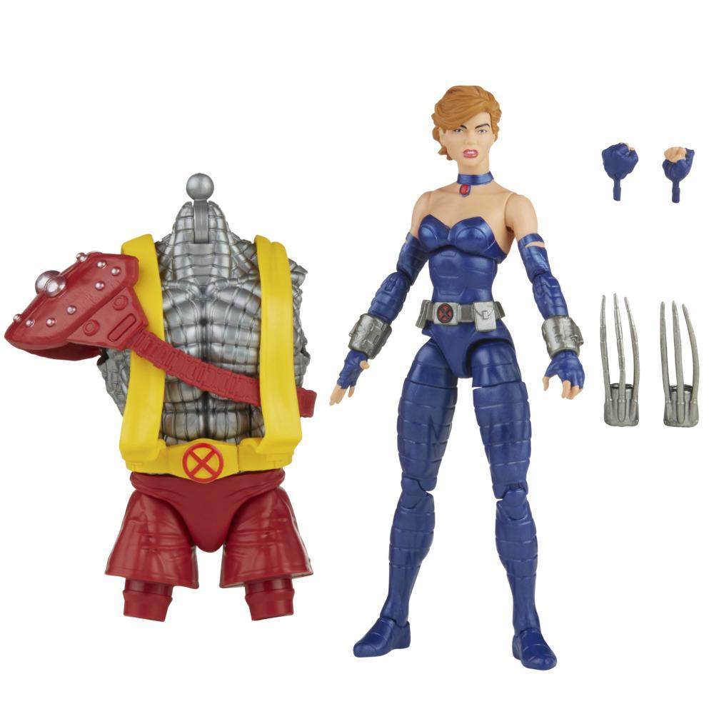 Hasbro Marvel Legends Series 6-inch Scale Action Figure Toy Marvel's Shadowcat, Includes Premium Design, 4 Accessories, and 1 Build-A-Figure Part