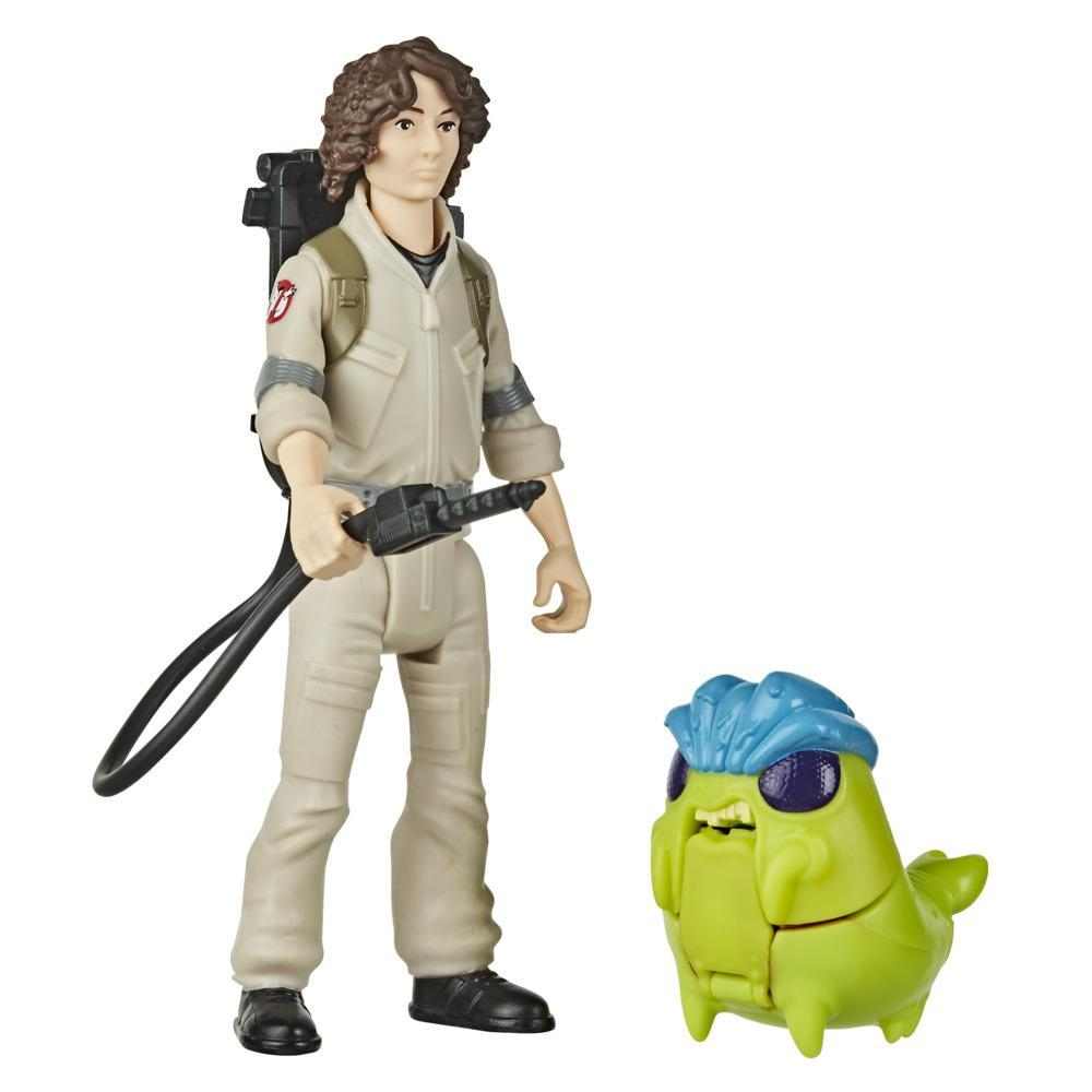 Ghostbusters Fright Features Trevor Figure with Interactive Ghost Figure and Accessory, Toys for Kids Ages 4 and Up