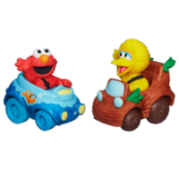 Playskool Sesame Street Racers (Elmo and Big Bird)