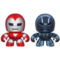 MARVEL THE AVENGERS MINI MUGGS SILVER CENTURION and IRON MONGER Figures
