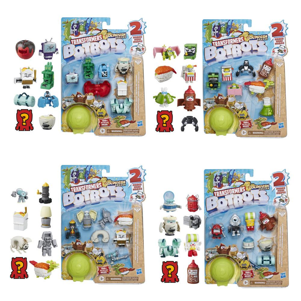 Transformers Toys BotBots Series 5 Hibotchi Heats 8-Pack – Mystery 2-In-1 Collectible Figures - Kids Ages 5 and Up