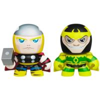 MARVEL THE AVENGERS MINI MUGGS THOR and LOKI Figures