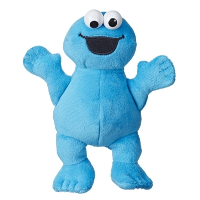 Playskool Friends Sesame Street Bean Bag Buddies Cookie Monster Plush