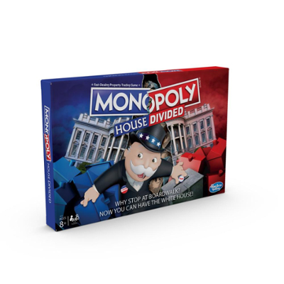 Monopoly House Divided Board Game for Ages 8 and Up