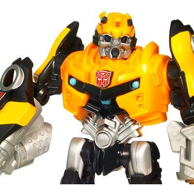 TRANSFORMERS POWER BOTS STEALTH BUMBLEBEE