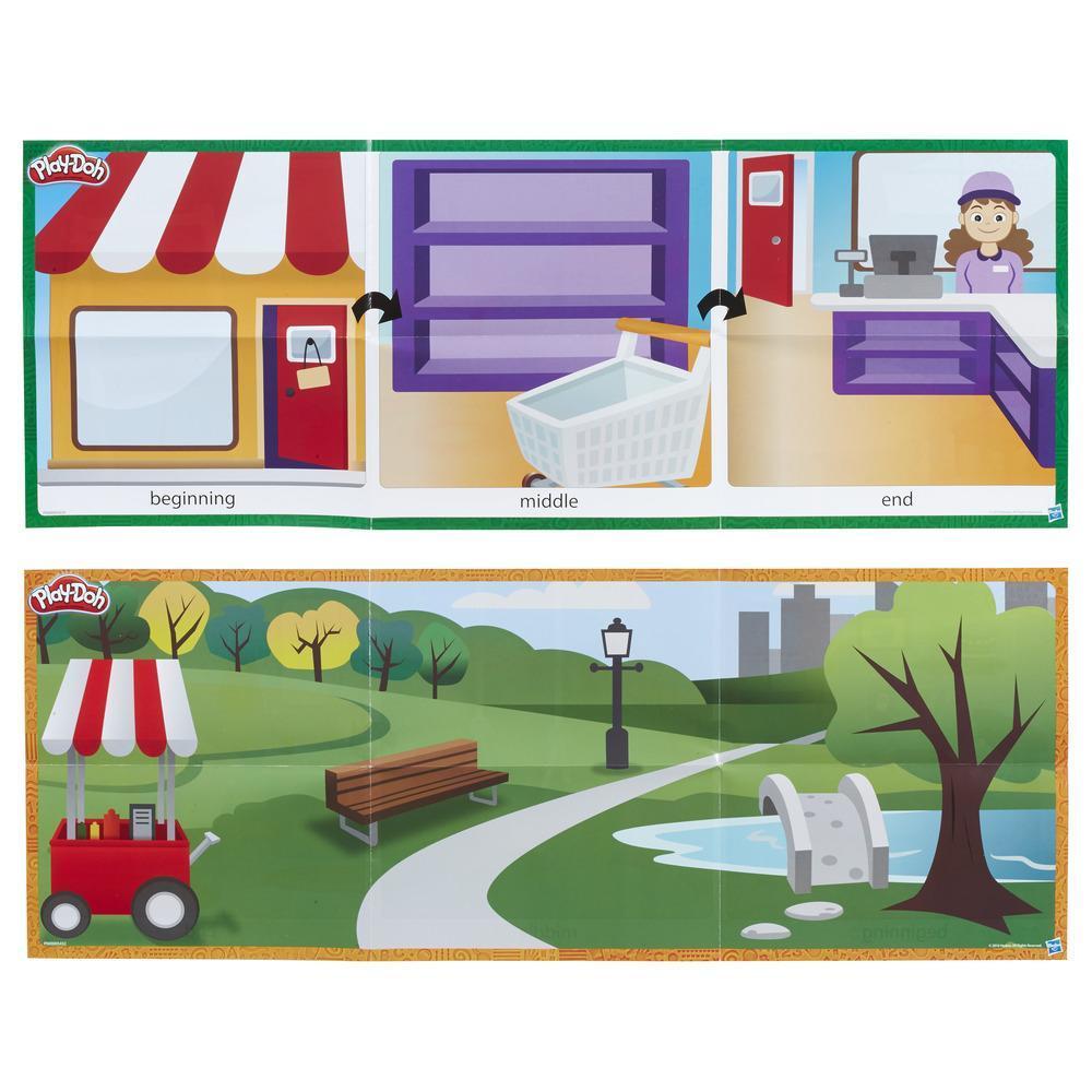 Play-Doh Shape and Learn Shape a Story