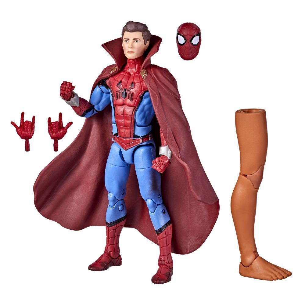 Marvel Legends Series 6-inch Scale Action Figure Toy Zombie Hunter Spidey, Includes Premium Design, 3 Accessories, and Build-a-Figure Part