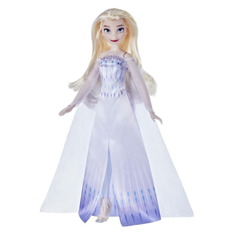 Disney's Frozen 2 Snow Queen Elsa Fashion Doll, Dress, Shoes, and Long Blonde Hair, Toy for Kids 3 Years Old and Up