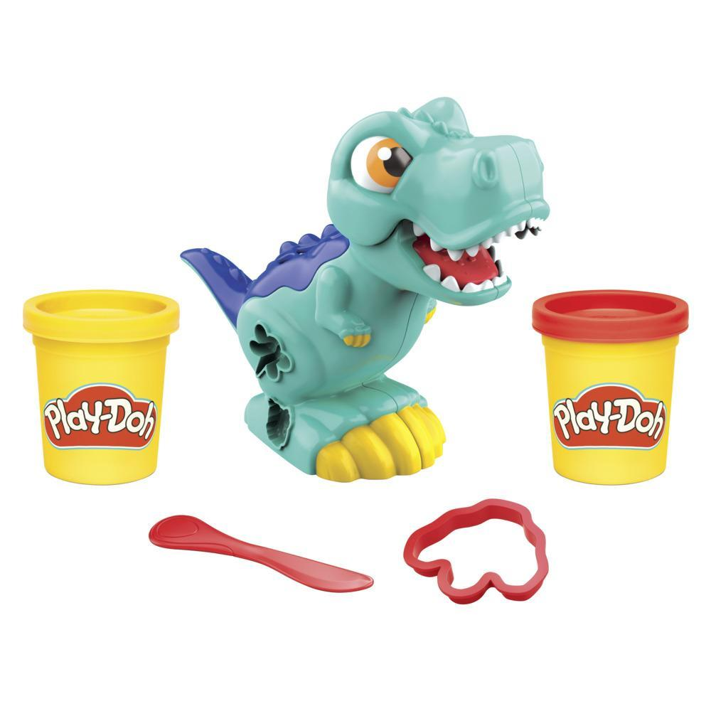 Play-Doh Mini T-Rex Dinosaur Toy for Kids 3 Years and Up with 2 Colors