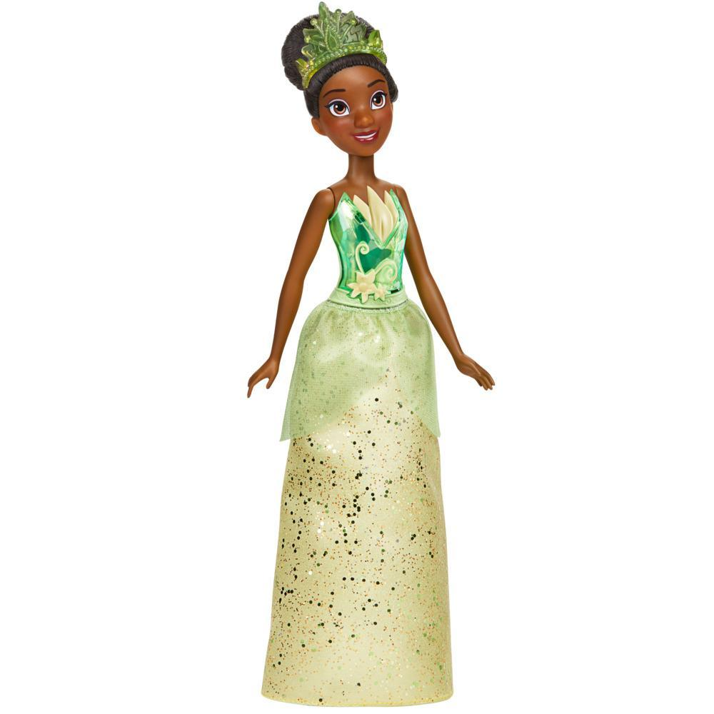 Disney Princess Royal Shimmer Tiana Doll, Fashion Doll with Skirt and Accessories, Toy for Kids Ages 3 and Up