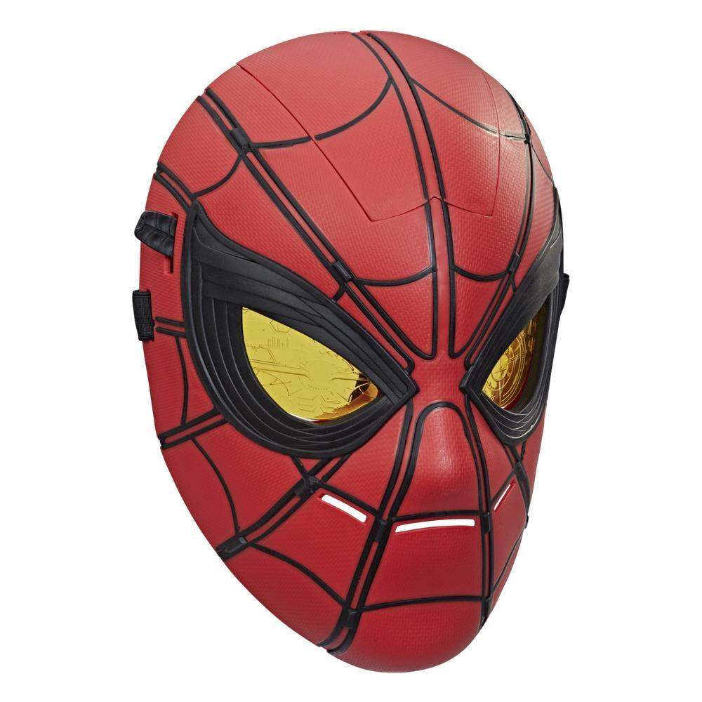 Marvel Spider-Man Glow FX Mask Electronic Wearable Toy With Light-Up Eyes For Role Play, For Kids Ages 5 and Up