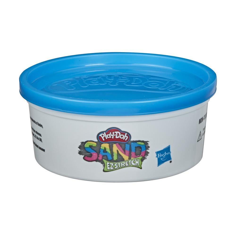 Play-Doh Sand EZ Stretch Single Can of Blue Stretchable Activity Sand Compound, 6 Ounces, Non-Toxic